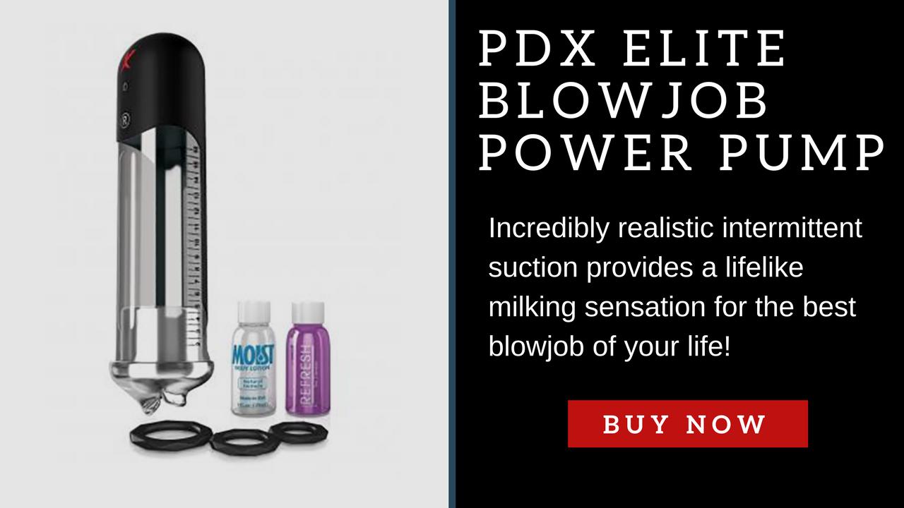 PDX Elite Blowjob Power Pump